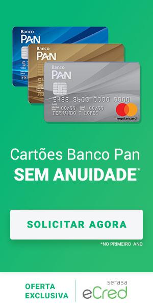 Banner cartão PAN